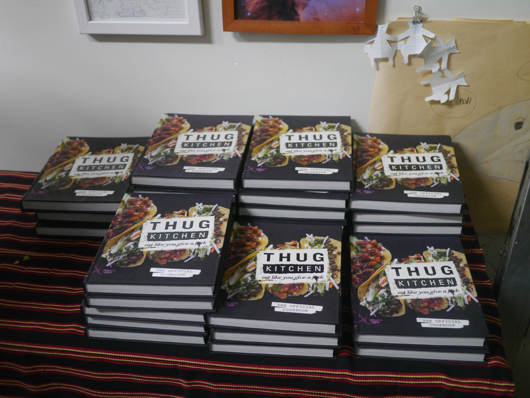 thug kitchen cookbook release and book signing - imprint lab